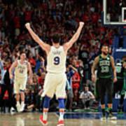 Boston Celtics V Philadelphia 76ers - Art Print