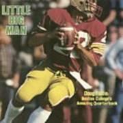 Boston College Qb Doug Flutie... Sports Illustrated Cover Art Print