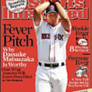 Boston Red Sox Daisuke Matsuzaka... Sports Illustrated Cover Art Print