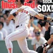 Boston Red Sox Dwight Evans... Sports Illustrated Cover Art Print