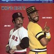Boston Red Sox Jim Rice And Pittsburgh Pirates Dave Parker Sports Illustrated Cover Art Print