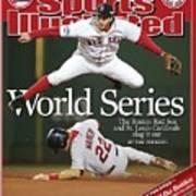Boston Red Sox Mark Bellhorn, 2004 World Series Sports Illustrated Cover Art Print