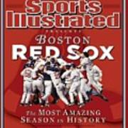 Boston Red Sox Vs St. Louis Cardinals, 2004 World Series Sports Illustrated Cover Art Print
