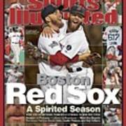 Boston Red Sox, World Champions 2013 A Spirited Season Sports Illustrated Cover Art Print