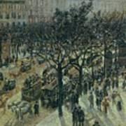 Boulevard Des Italiens - Afternoon, 1987 Art Print
