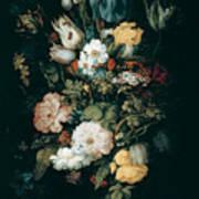 Bouquet Of Flowers  The So Called Liechtenstein Bouquet        Art Print