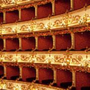 Boxes Of Italian Antique Theater Art Print
