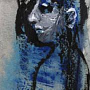Boy In Blue Art Print