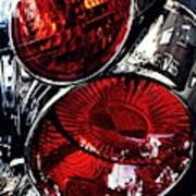 Brake Light 13 Art Print