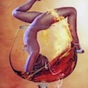 Brandy Girl Art Print