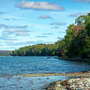 Bras D'or Lake, Cape Breton Nova Scotia, Canada Art Print