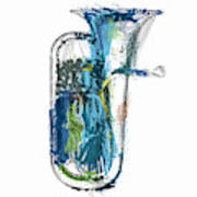 Brass Euphonium 4 Art Print