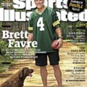 Brett Favre, Where Are They Now Sports Illustrated Cover Art Print