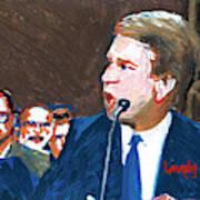 Brett Kavanaugh Testifies Before Senate Art Print