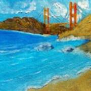 Bridge Over The Bay Art Print