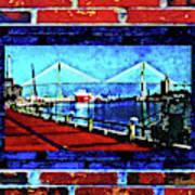 Bridges And Walls  Art Print
