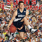 Brigham Young University Jimmer Fredette, 2011 March Sports Illustrated Cover Art Print