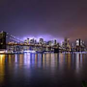 Bright Lights Of New York II Art Print