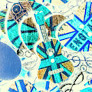 Britain Blues Art Print