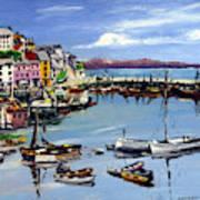 Brixham Harbour Art Print