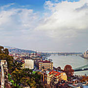 Budapest - Sweeping View Art Print