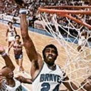Buffalo Braves Garfield Heard, 1975 Nba Eastern Conference Sports Illustrated Cover Art Print