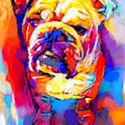 Bulldog 4 Art Print