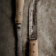 Butcher Knives Art Print
