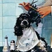 Butch's Haircut Art Print