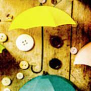 Button Storm Art Print