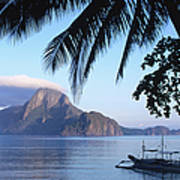 Cadlao Island From El Nido, Sunrise Art Print