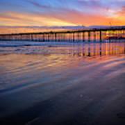 California Sunset Vii Art Print