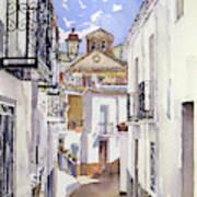 Calle De Cherin Art Print
