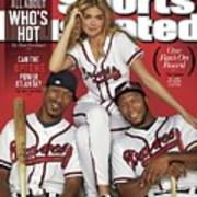 Can The Uptons Power Atlanta One Fans On Board 2013 Mlb Sports Illustrated Cover Art Print