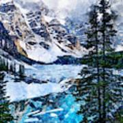 Canada, Alberta - 07 Art Print