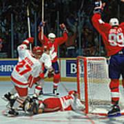 Canada Cup Victory Art Print