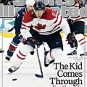 Canada Sidney Crosby, 2010 Winter Olympics Sports Illustrated Cover Art Print