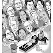 Candidate Angst Art Print