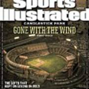 Candlestick Park Gone With The Wind Sports Illustrated Cover Art Print