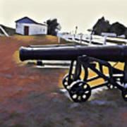 Cannon - Victoria Park Pei Art Print