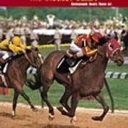 Cannonade, 1974 Kentucky Derby Sports Illustrated Cover Art Print