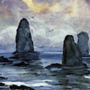 Cape Horn Overcast Art Print