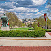Capitol - Madison - Wisconsin From Bascom Hall Art Print