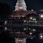 Capitol Reflection Art Print