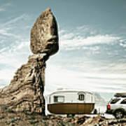 Careless Camping Art Print