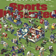 Carnage Inside The Nfls Season Of Pain Sports Illustrated Cover Art Print