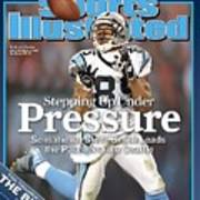 Carolina Panthers Steve Smith, 2006 Nfc Divisional Playoffs Sports Illustrated Cover Art Print