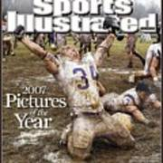 Carroll College Brandon Day, 2007 Naia National Football Sports Illustrated Cover Art Print