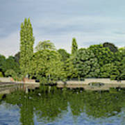 Carshalton Ponds Art Print