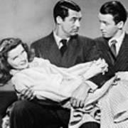 Cary Grant, James Stewart Art Print